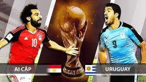 Link sopcast: Ai Cập vs Uruguay, 19h00 ngày 15/6