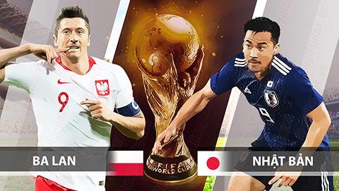 Link sopcast Nhật Bản vs Ba Lan 21h00 ngày 28/6