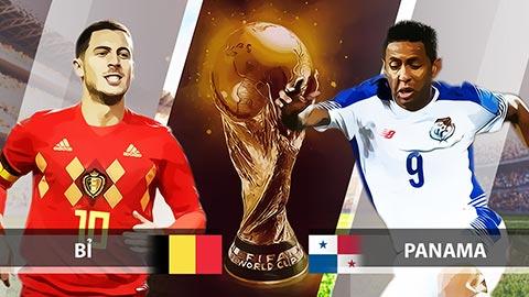 Link sopcast Bỉ vs Panama 22h00 ngày 18/6