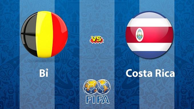 Nhận định Bỉ vs Costa Rica 01h45, 12/06