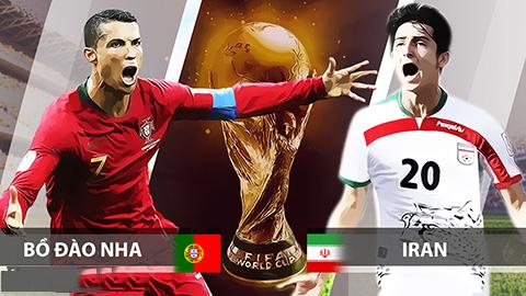 Link sopcast Iran vs Bồ Đào Nha 01h00 ngày 26/6