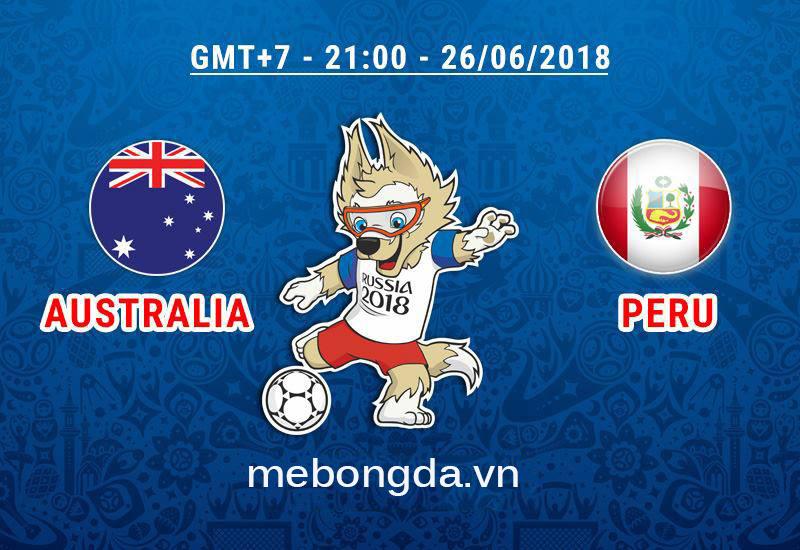 Link sopcast Australia vs Peru, 21h00 ngày 26/6