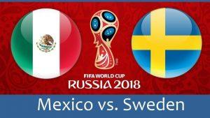 Link Sopcast: Mexico vs Thụy Điển, 21h00 ngày 27/06