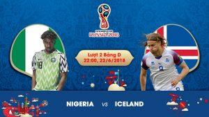 Link sopcast Nigeria vs Iceland 22h00 ngày 22/06