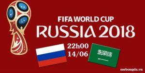 Link sopcast: Nga vs Ả Rập Xê Út, 22h00 ngày 14/6