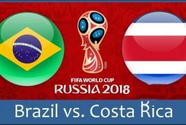 Link sopcast: Brazil vs Costa Rica