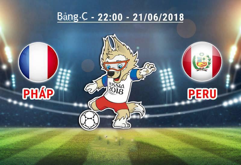 Link sopcast Pháp vs Peru, 22h00 ngày 21/06