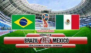 Link sopcast: Brazil vs Mexico 21h00 ngày 2/7 vòng 1/8