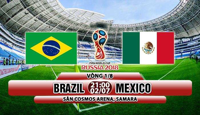 Link sopcast: Brazil vs Mexico