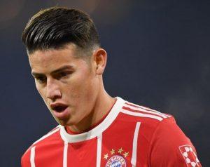 Tương lai của James Rodriguez tại Bayern được làm rõ