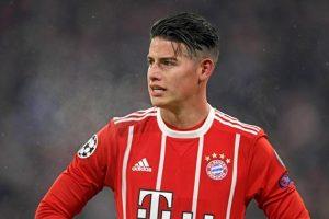 Tương lai của James Rodriguez tại Bayern sắp được làm rõ