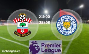 Link sopcast: Southampton vs Leicester, 21h00 ngày 25/8