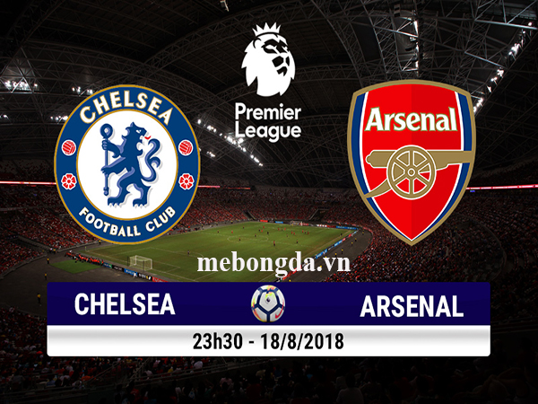 Link sopcast: Chelsea vs Arsenal 23h30, 18/8