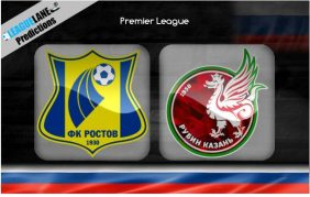 Rostov vs Rubin Kazan (23h30 ngày 31/08, VĐQG Nga)
