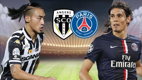 Link sopcast: PSG vs Angers 22h00 ngày 25/08
