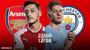 Link sopcast: Arsenal vs Man City, 22h00 – 12/8