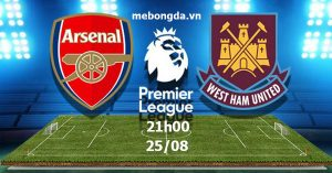 Link sopcast: Arsenal vs West Ham, 21h00 ngày 25/08