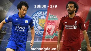 Link sopcast: Leicester vs Liverpool, 18h30 ngày 1/9