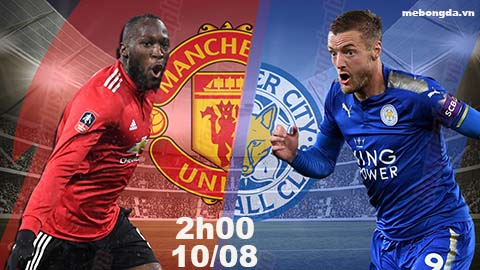 Link sopcast: Man United vs Leicester, 02h00 ngày 11/8