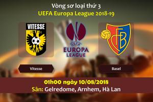 Nhận định Vitesse vs Basel, 01h00 ngày 10/08: Nối dài khủng hoảng