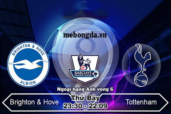 Link sopcast: Brighton vs Tottenham, 23h30 ngày 22/9