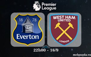 Link sopcast: Everton vs West Ham Utd 22h00 ngày 16/9