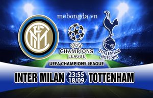 Link sopcast: Inter Milan vs Tottenham 23h55 ngày 18/09