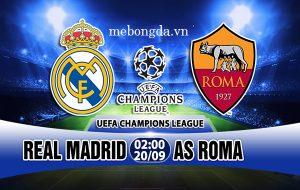 Link sopcast: Real Madrid với Roma 2h00 ngày 20/9