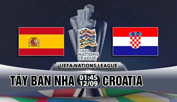 Link sopcast: Tây Ban Nha vs Croatia 1h45 ngày 12/9 UEFA Nations League