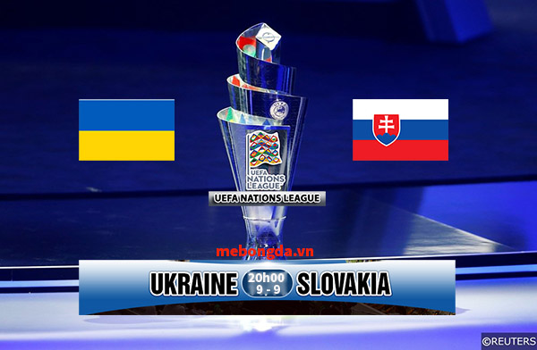 Link sopcast: Ukraine vs Slovakia, 20h00 ngày 9/9