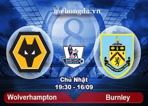 Link sopcast: Wolves vs Burnley 19h30 ngày 16/09/18