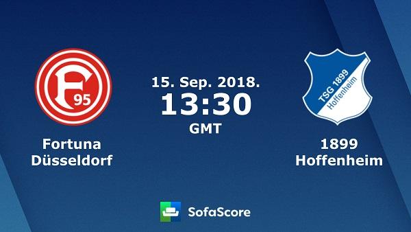 Nhận định bóng đá Dusseldorf vs Hoffenheim, 20h30 ngày 15/9: Giải VĐQG Đức