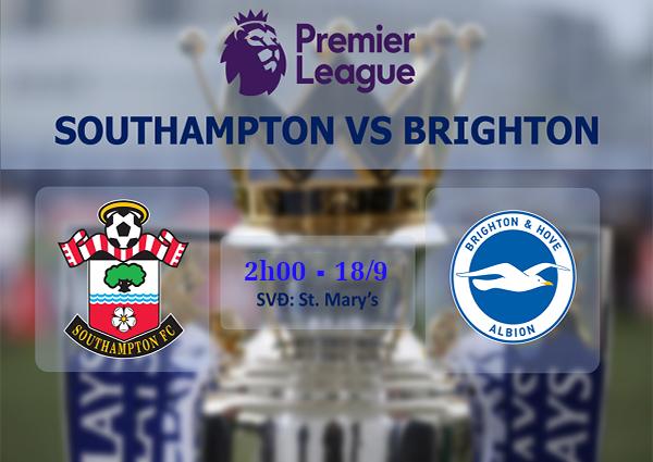 Link sopcast: Southampton vs Brighton 2h00 ngày 18/9