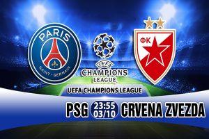 Link sopcast: PSG vs Crvena Zvezda, 23h55 ngày 3/10