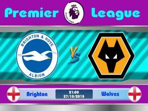 Link sopcast: Brighton vs Wolves 21h00, 27/10 (Ngoại hạng Anh)