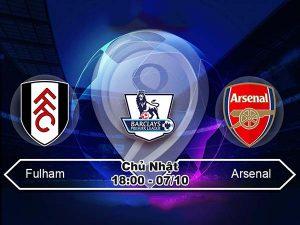 Link sopcast: Fulham vs Arsenal 18h00 ngày 7/10 – Vòng 8 NHA