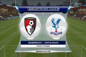 Link sopcast: Bournemouth vs Crystal Palace 2h00 ngày 2/10