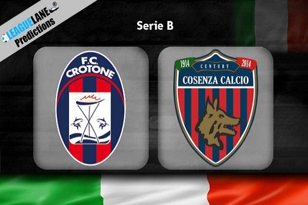 Nhận định Crotone vs Cosenza, 03h00 ngày 27/11: V13 VĐQG Italia