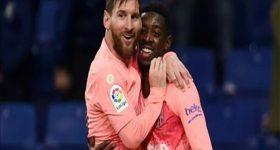 Dembele ca tụng người đồng đội Messi