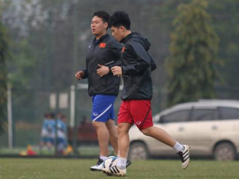 Tin vui đến từ Đình Trọng trước thềm vòng loại U23 châu Á