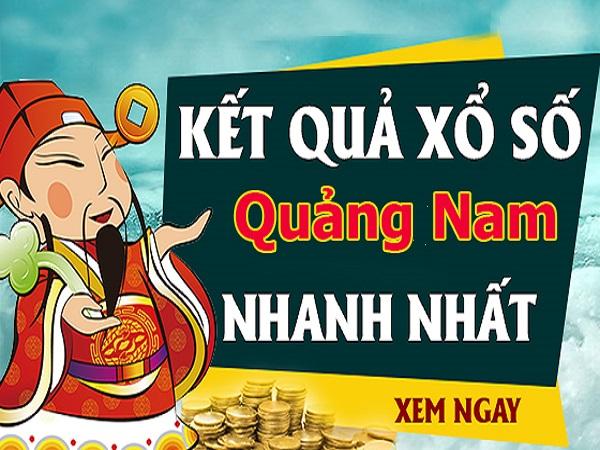 Phân tích, soi cầu kết quả Xổ Số Quảng Nam 14/05/2019