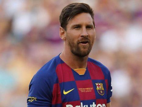 Barca nhận tin buồn về tình trạng của Messi