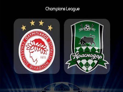 Nhận định Olympiacos vs Krasnodar, 2h00 ngày 22/08