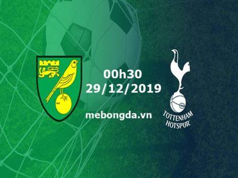 Link sopcast Norwich vs Tottenham 03h00 ngày 29/12