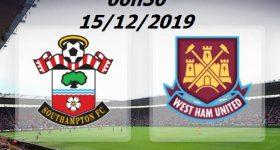 Link sopcast Southampton vs West Ham, 0h30 ngày 15/12