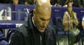 HLV Zidane phát biểu gây sốc sau trận thua đối thủ Levante