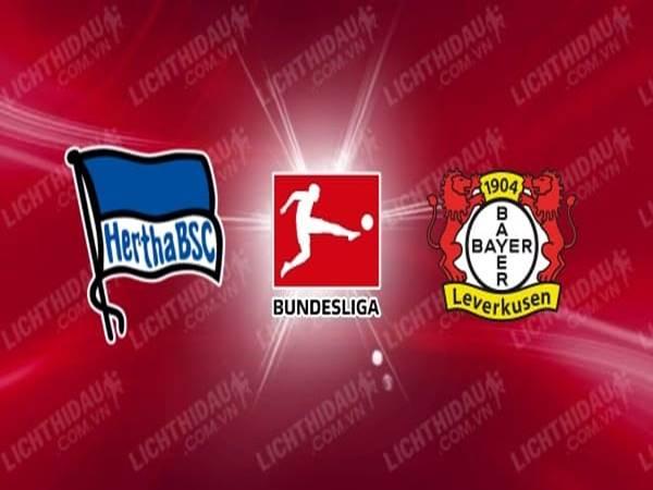 Nhận định tỷ lệ Hertha Berlin vs Bayer Leverkusen (20h30 ngày 20/6)