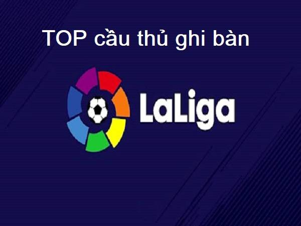 Top cầu thủ ghi bàn bóng đá Tây Ban Nha 2019/20