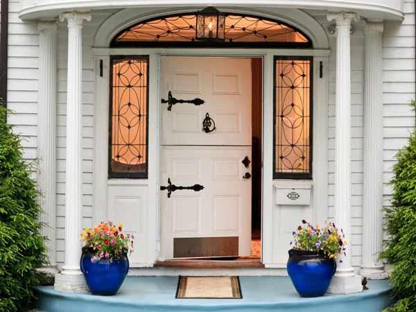 Phong thủy cửa chính giúp mang lại tài lộc vào nhà