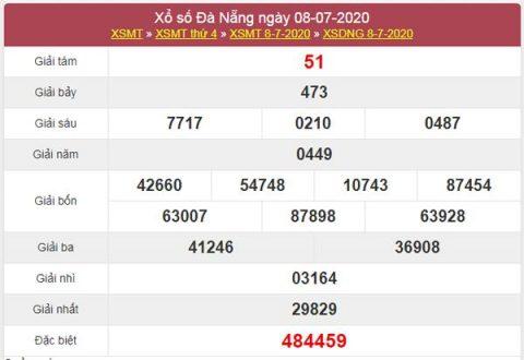 Thống kê XSDNG 11/7/2020 chốt KQXS Đà Nẵng chuẩn xác